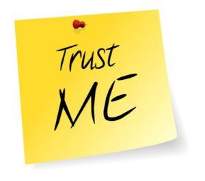 geeltje met Trust me